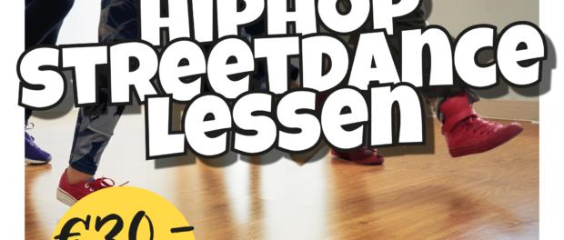 Inschrijving Streetdance en Hiphop lessen in jongerencentrum Elektra