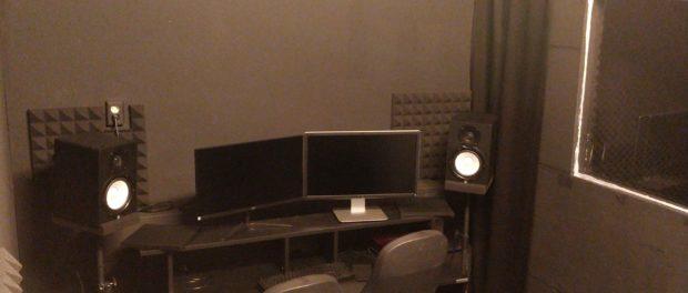 De studio is geopend!!