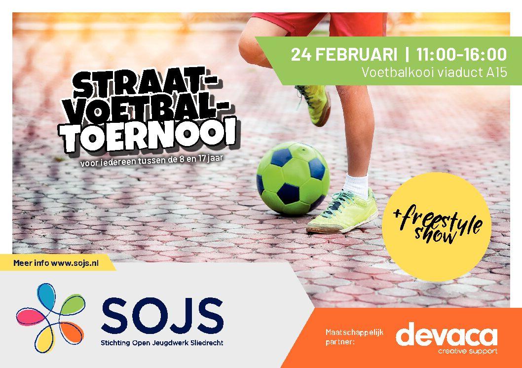 Straatvoetbaltoernooi & Freestyle show