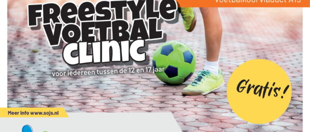 Freestyle voetbal clinic